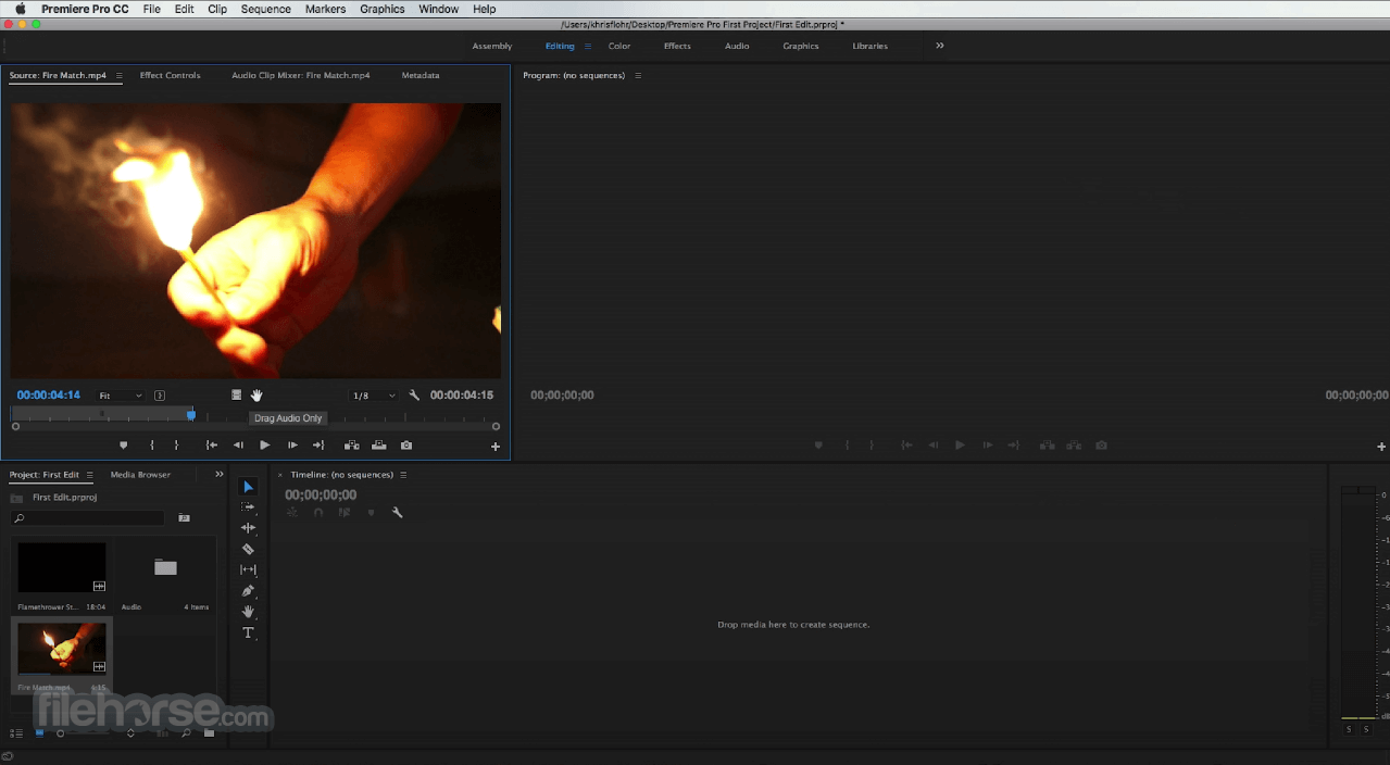 Adobe Premiere Pro CC 2020 14.6 Captura de Pantalla 1