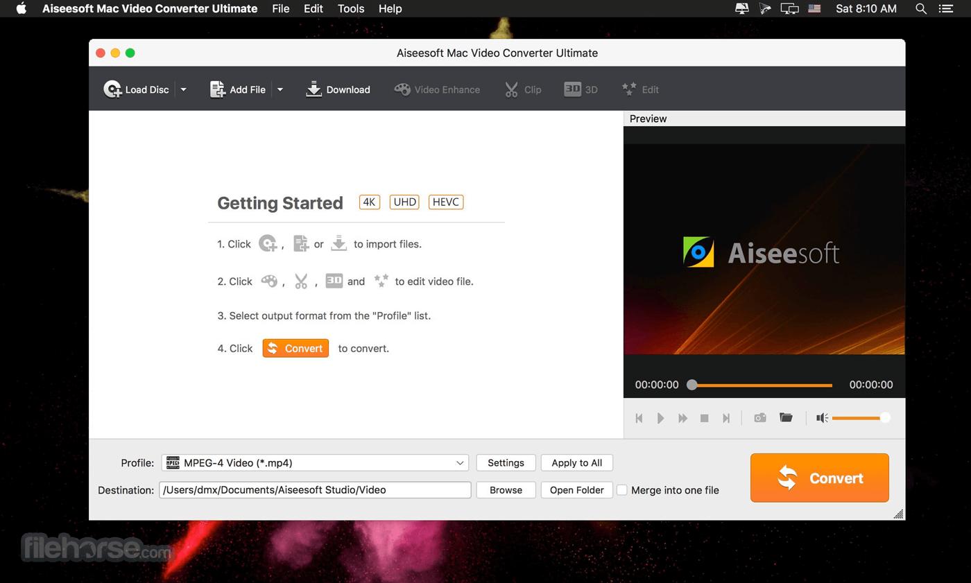 Aiseesoft Total Video Converter 9.2.10 Screenshot 1