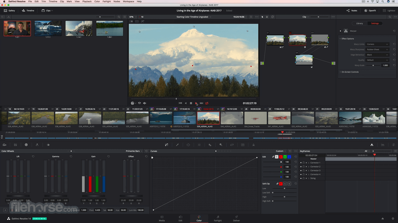 DaVinci Resolve 15 3 Download for Mac / Change Log / FileHorse com