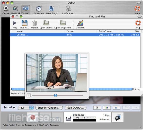Debut Video Capture 4.10 Screenshot 3