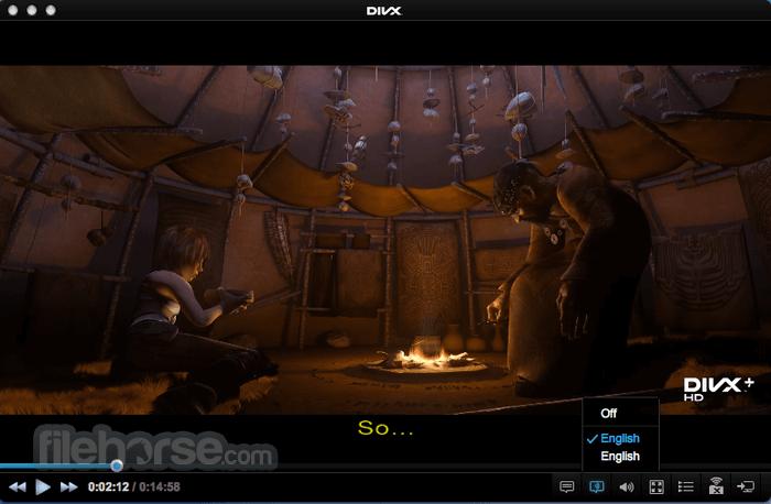 DivX 10.8.7 Screenshot 1