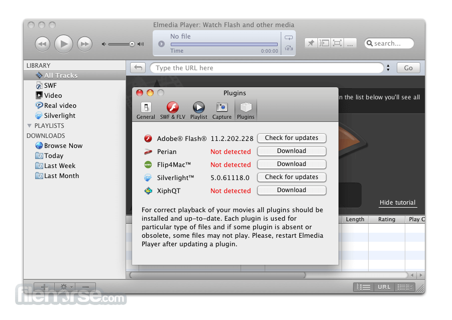 Elmedia Player 5.1.482 Screenshot 3