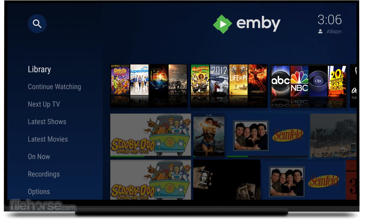 Emby Server 4.4.2 Captura de Pantalla 2