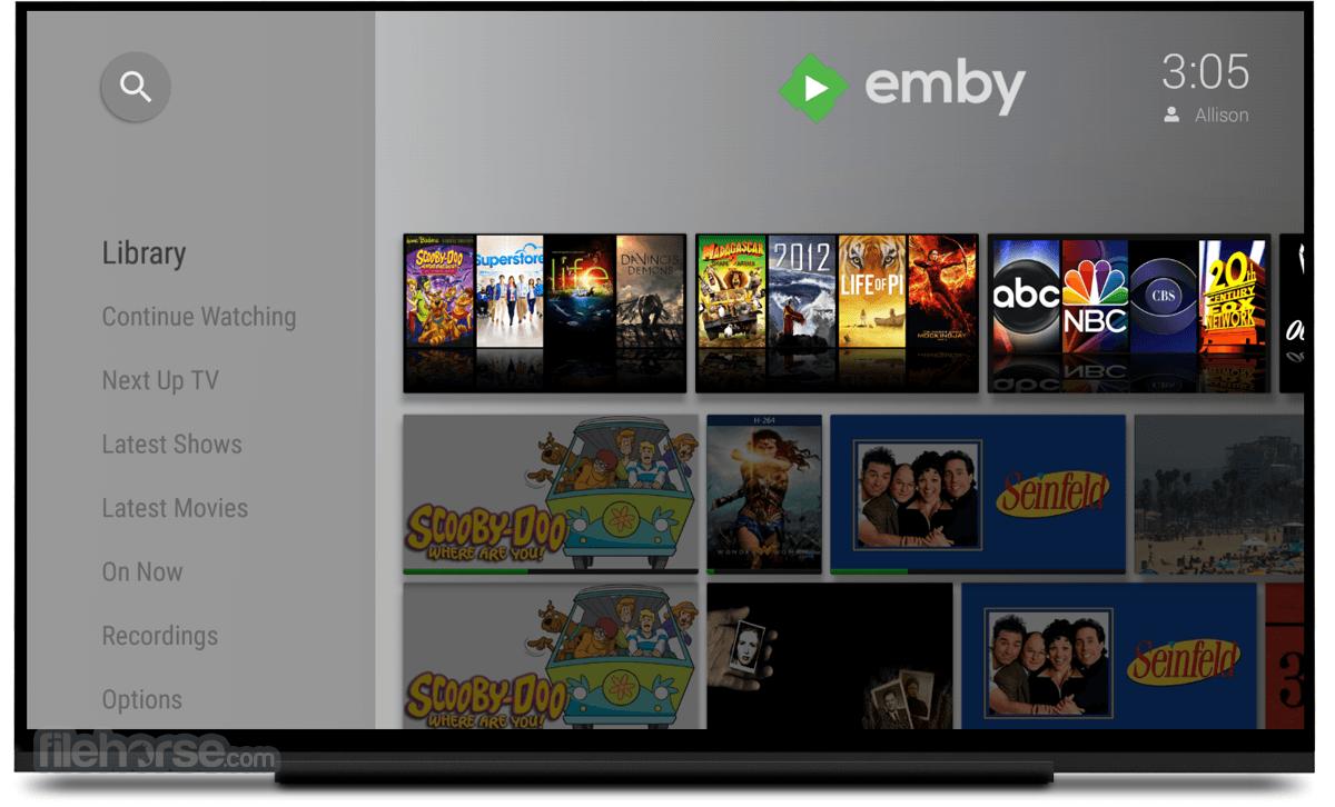 Emby Server 4.4.2 Captura de Pantalla 4