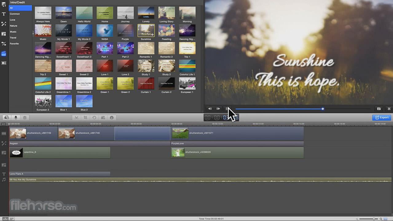 Wondershare Filmora 8.5.0 Screenshot 4