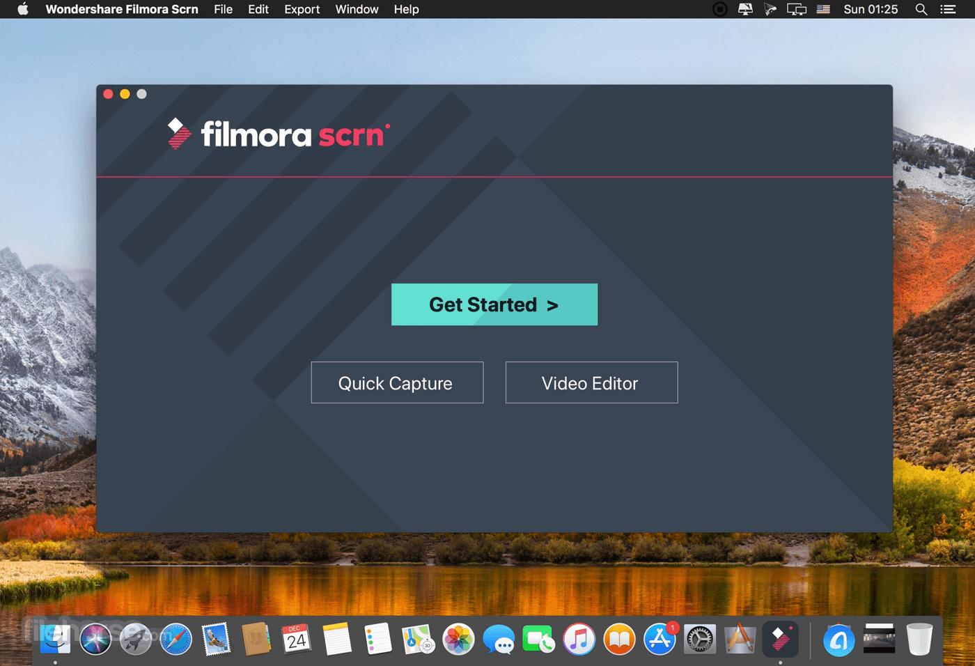 Filmora Scrn 2.0.1 Screenshot 1