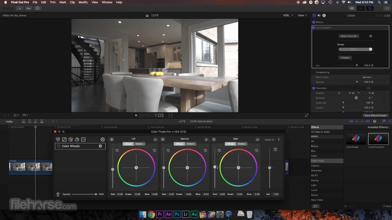 Final Cut Pro 10.6 Screenshot 2