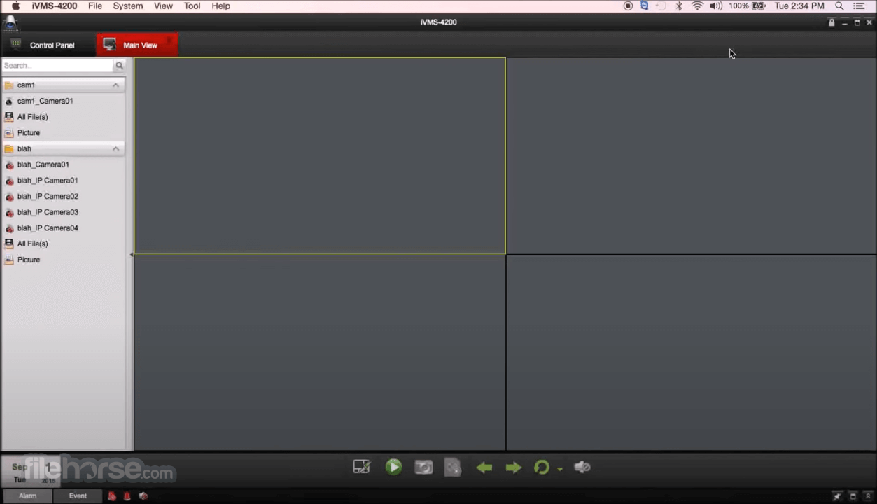 Hikvision iVMS 4200 2.0.0.10 Captura de Pantalla 1
