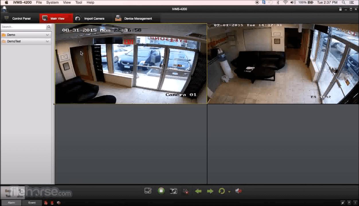 Hikvision iVMS 4200 2.0.0.10 Captura de Pantalla 4