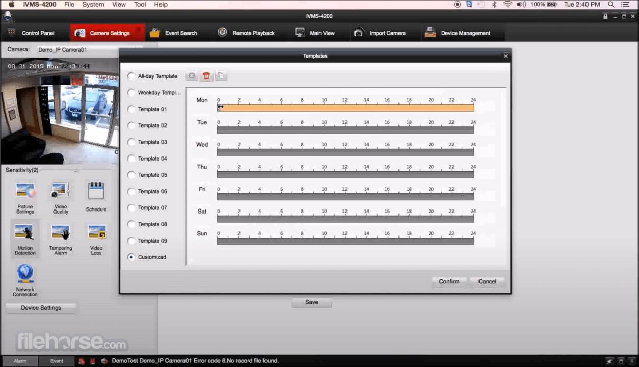 Hikvision iVMS 4200 2.0.0.10 Captura de Pantalla 5