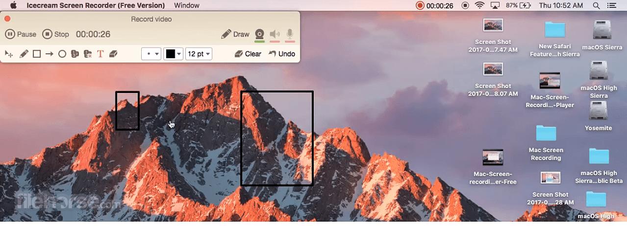 IceCream Screen Recorder 1.0.8 Screenshot 3