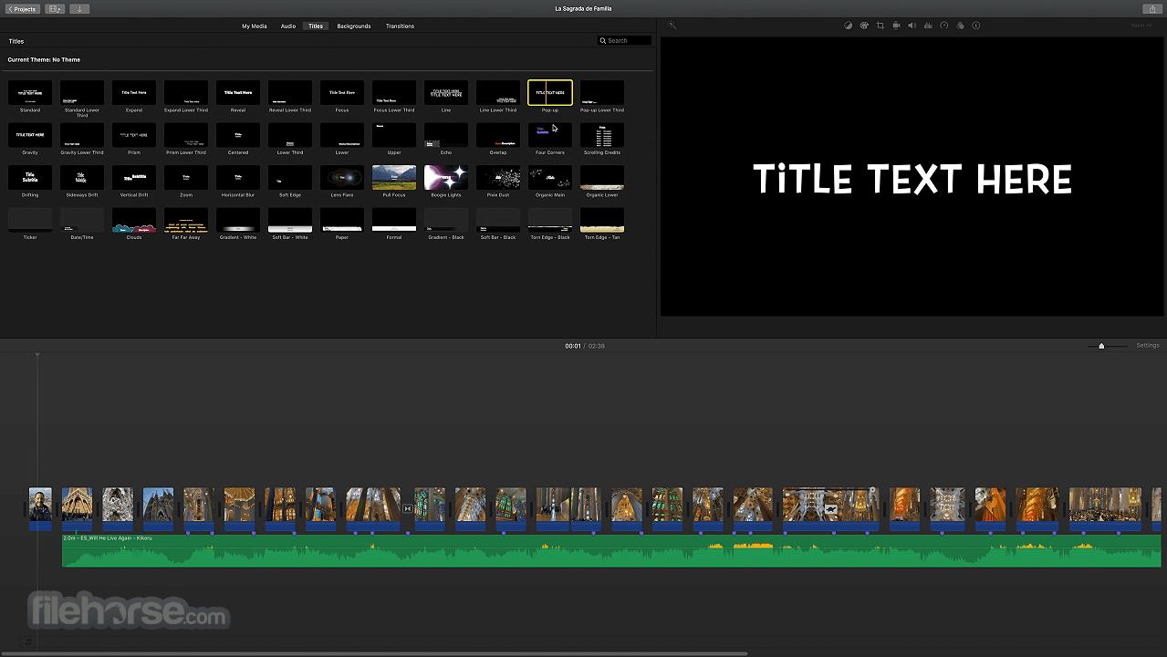 iMovie 10.2.3 Screenshot 3