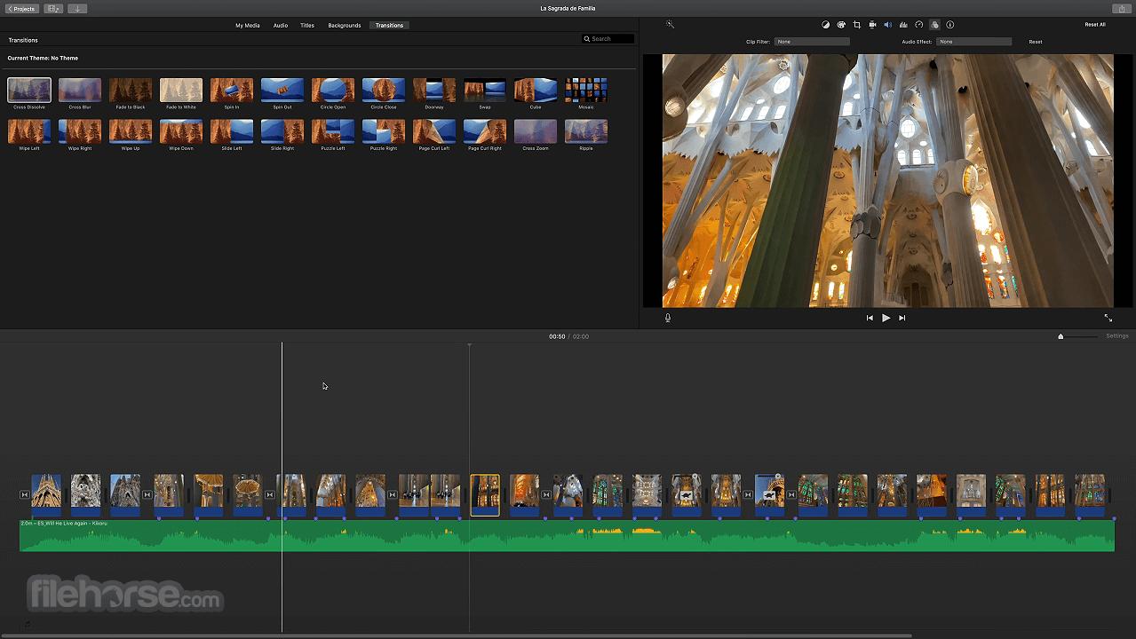 iMovie 10.2.3 Screenshot 4