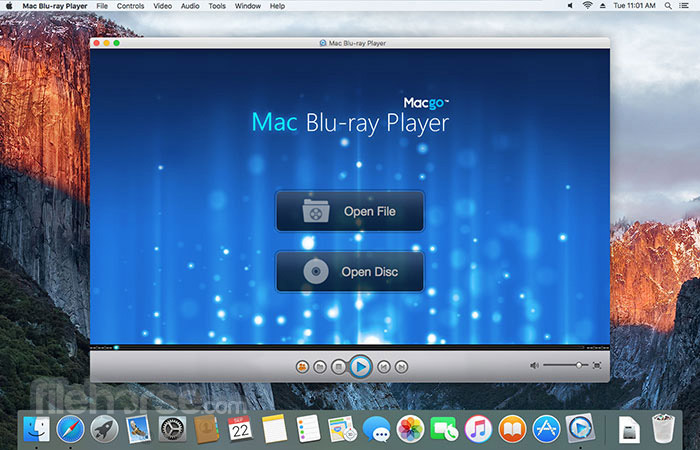 Macgo Mac Blu-ray Player 3.3.19 Captura de Pantalla 1