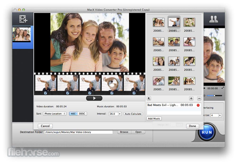 MacX Video Converter Pro 6.2.0 Screenshot 2