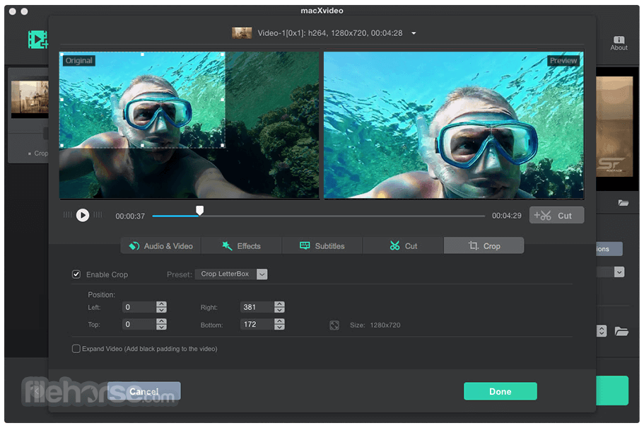 macXvideo 1.5 Screenshot 4