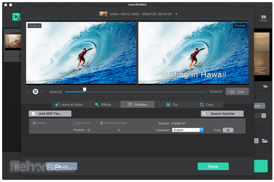 macXvideo 1.5 Screenshot 5
