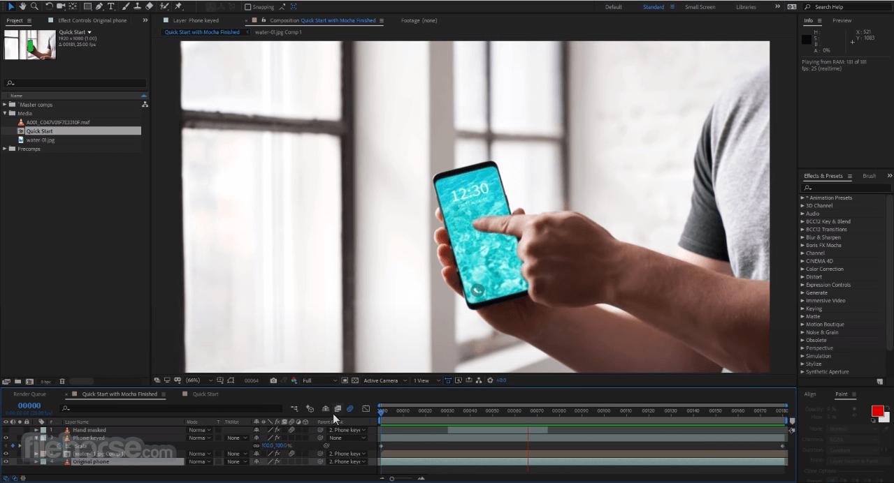 Mocha Pro 2020.5 7.5.1 Screenshot 1