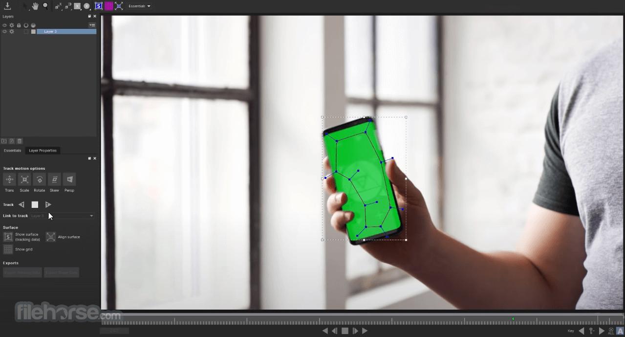 Mocha Pro 2020.5 7.5.1 Screenshot 2