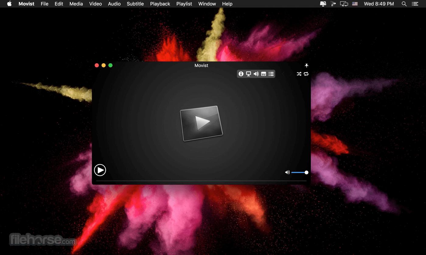 Movist 2.5.3 Captura de Pantalla 1