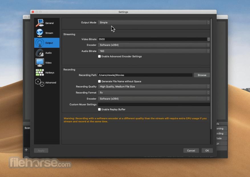 OBS Studio 27.0 Screenshot 3