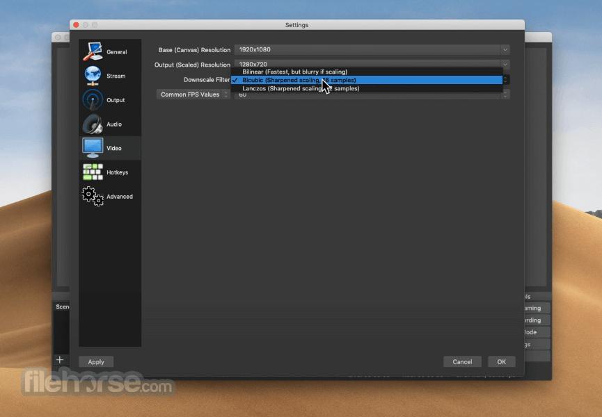 OBS Studio 27.0 Screenshot 5