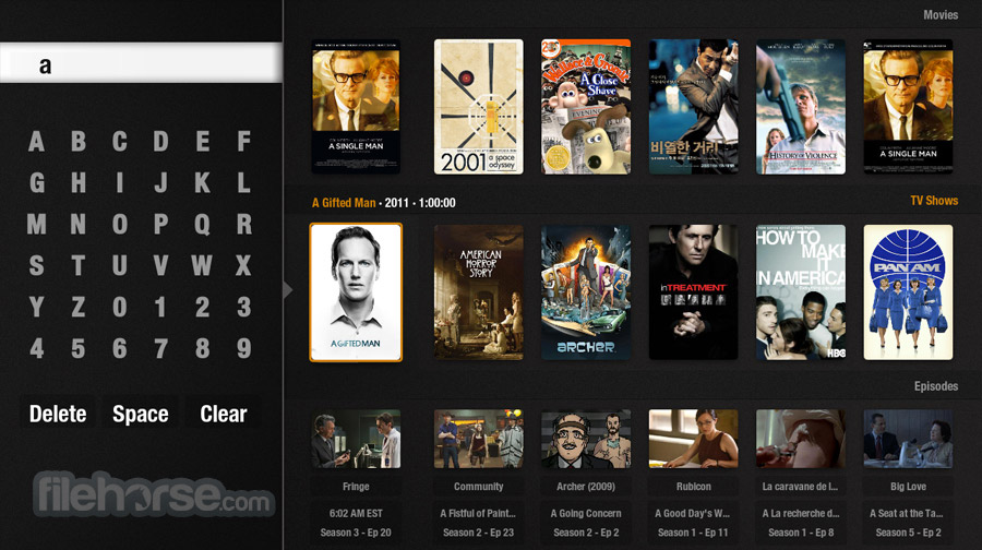 Plex Home Theater 1.0.13.222 (32-bit) Screenshot 2