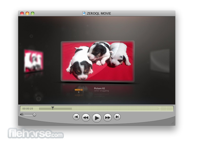 Quicktime 7.3.1 (Panther) Screenshot 2