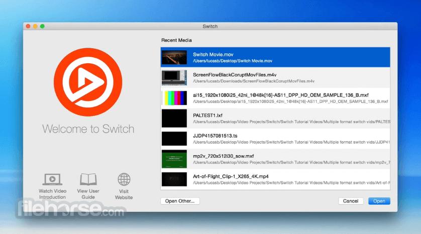 Switch 4.5.7 Screenshot 1