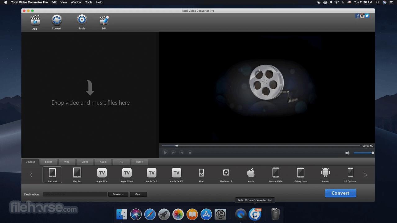 Total Video Converter 4.5.0 Screenshot 1