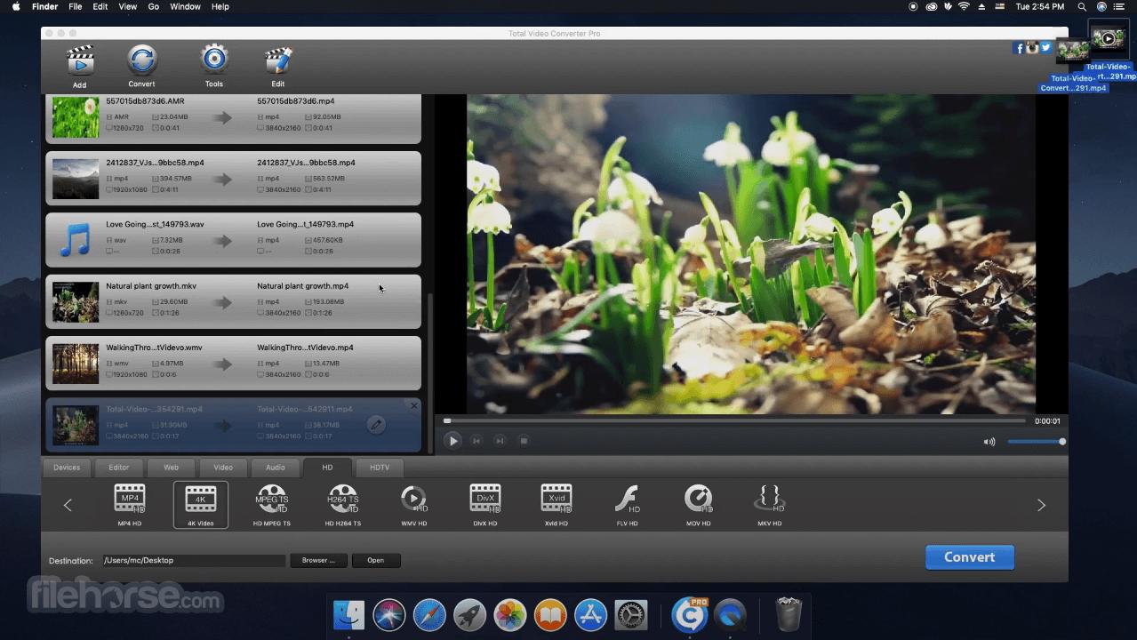 Total Video Converter 4.5.0 Screenshot 3