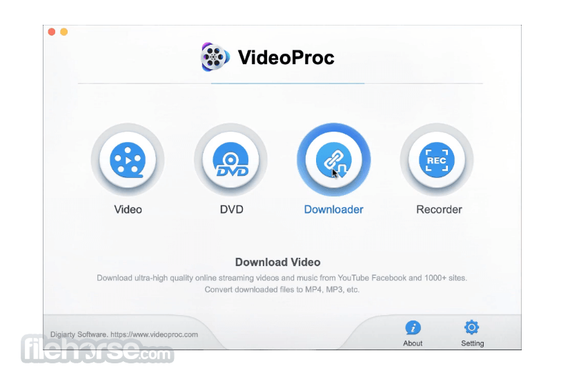 VideoProc 4.0 Screenshot 1