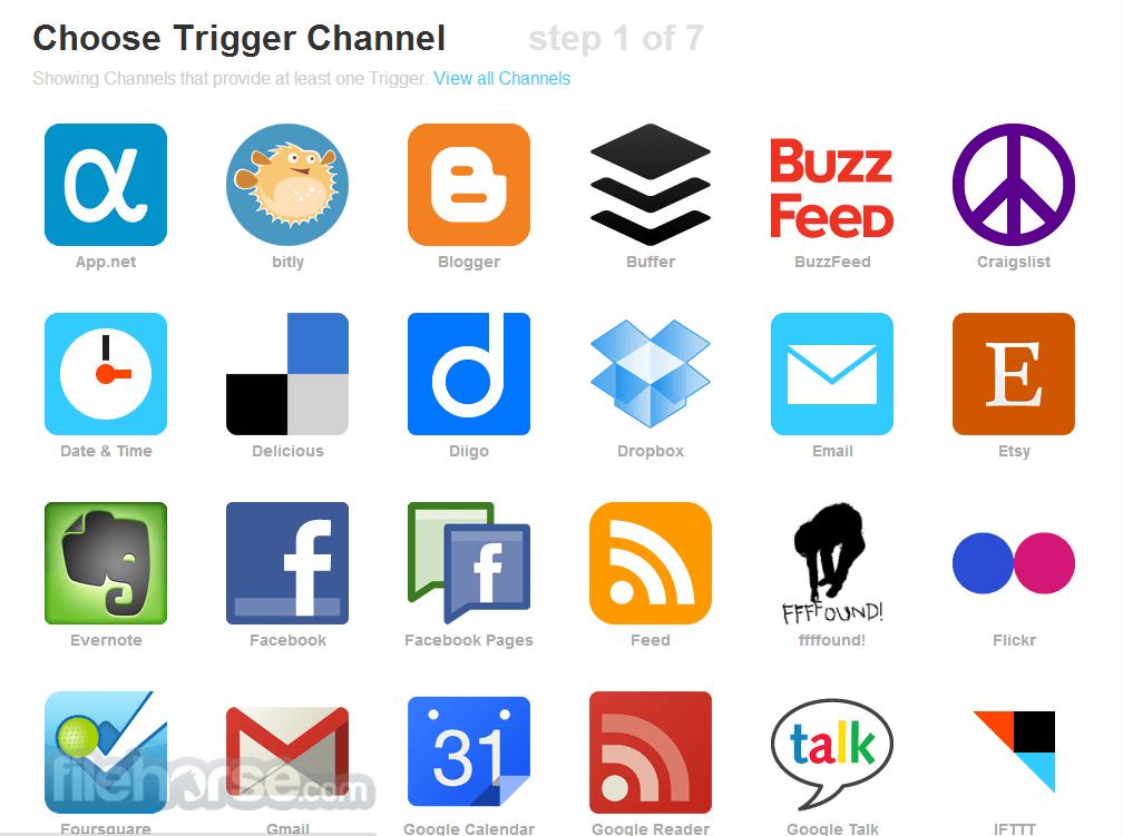 IFTTT Screenshot 2