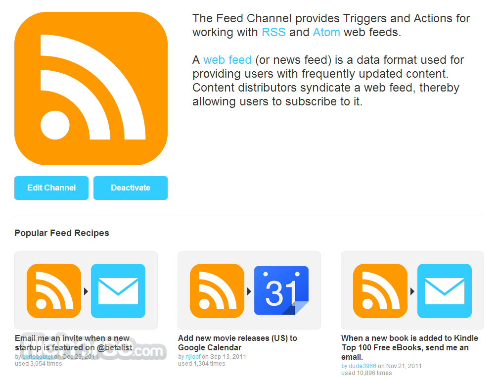 IFTTT Screenshot 4
