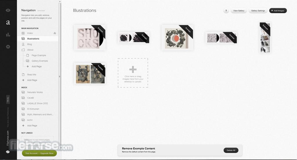 Squarespace Captura de Pantalla 2