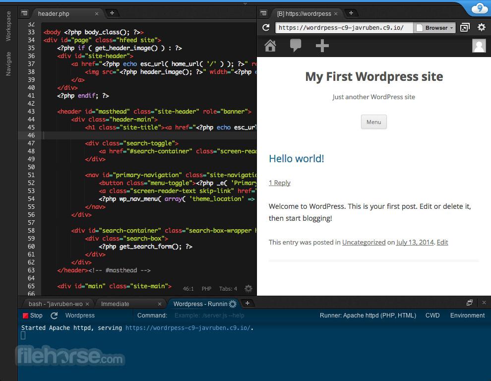 Cloud9 Screenshot 1