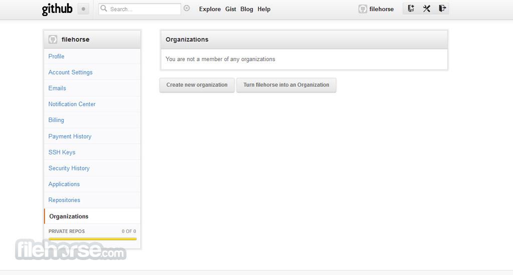 GitHub Screenshot 2