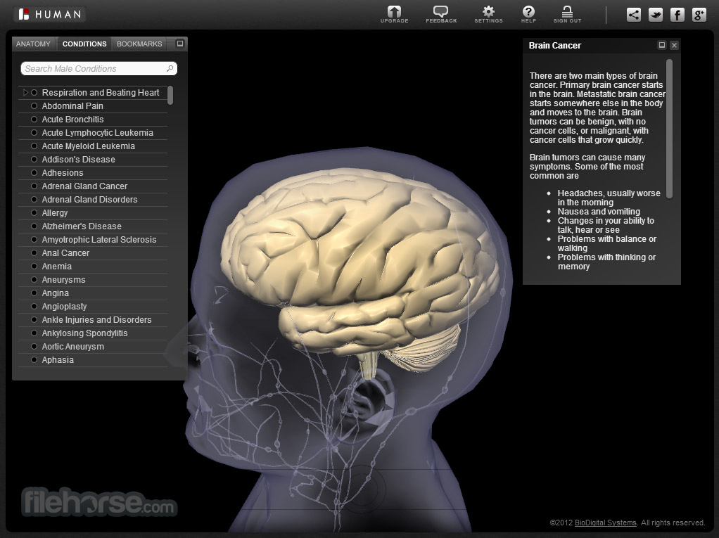 BioDigital Human Screenshot 3