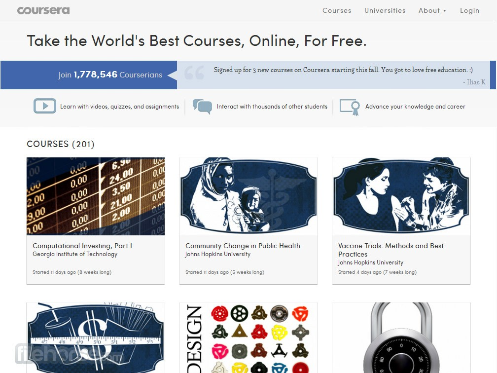 Coursera Captura de Pantalla 1