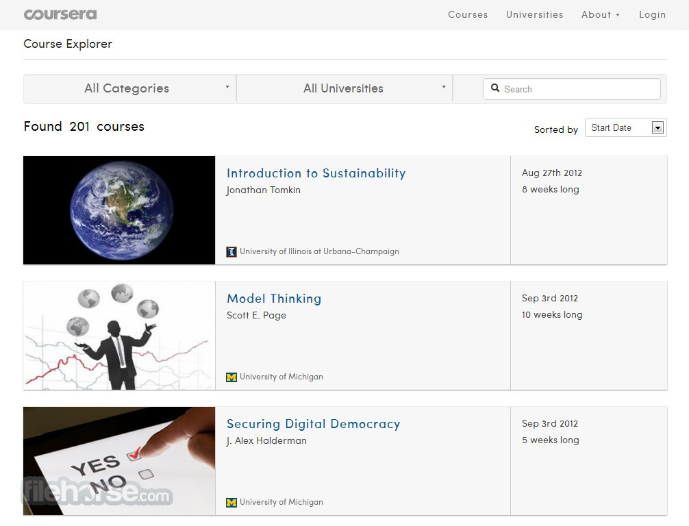 Coursera Captura de Pantalla 2