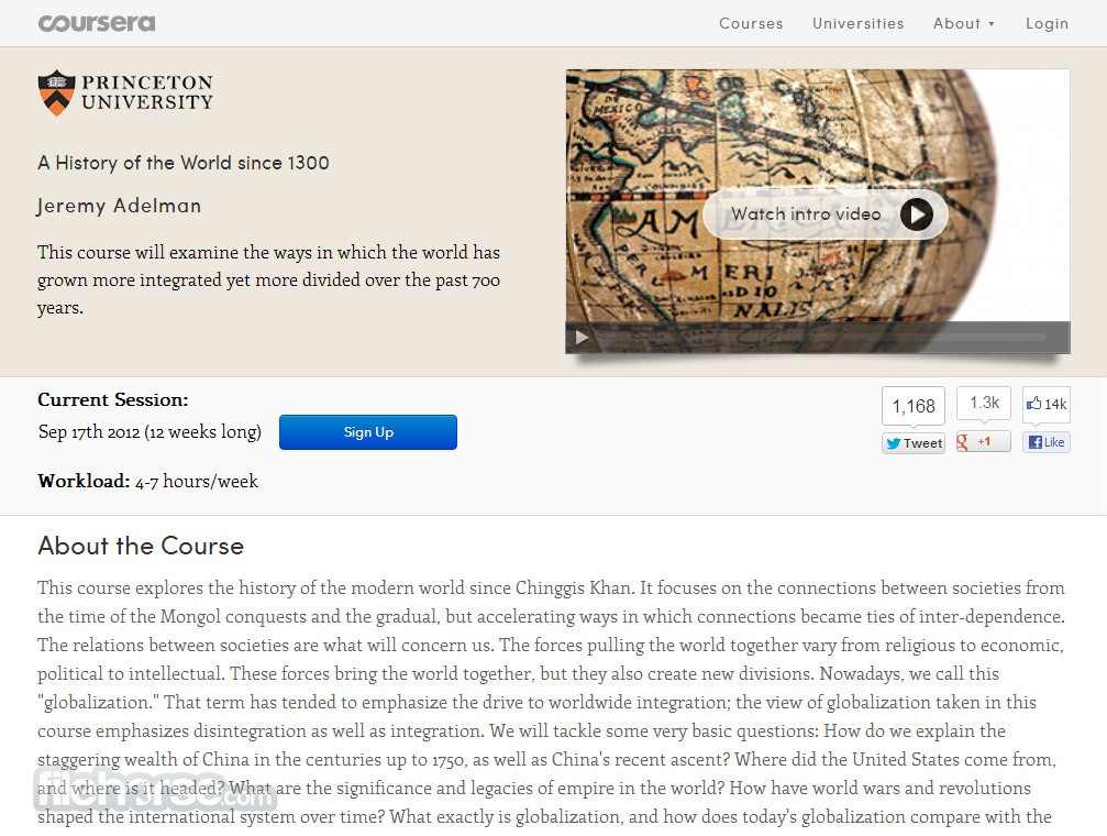 Coursera Captura de Pantalla 3