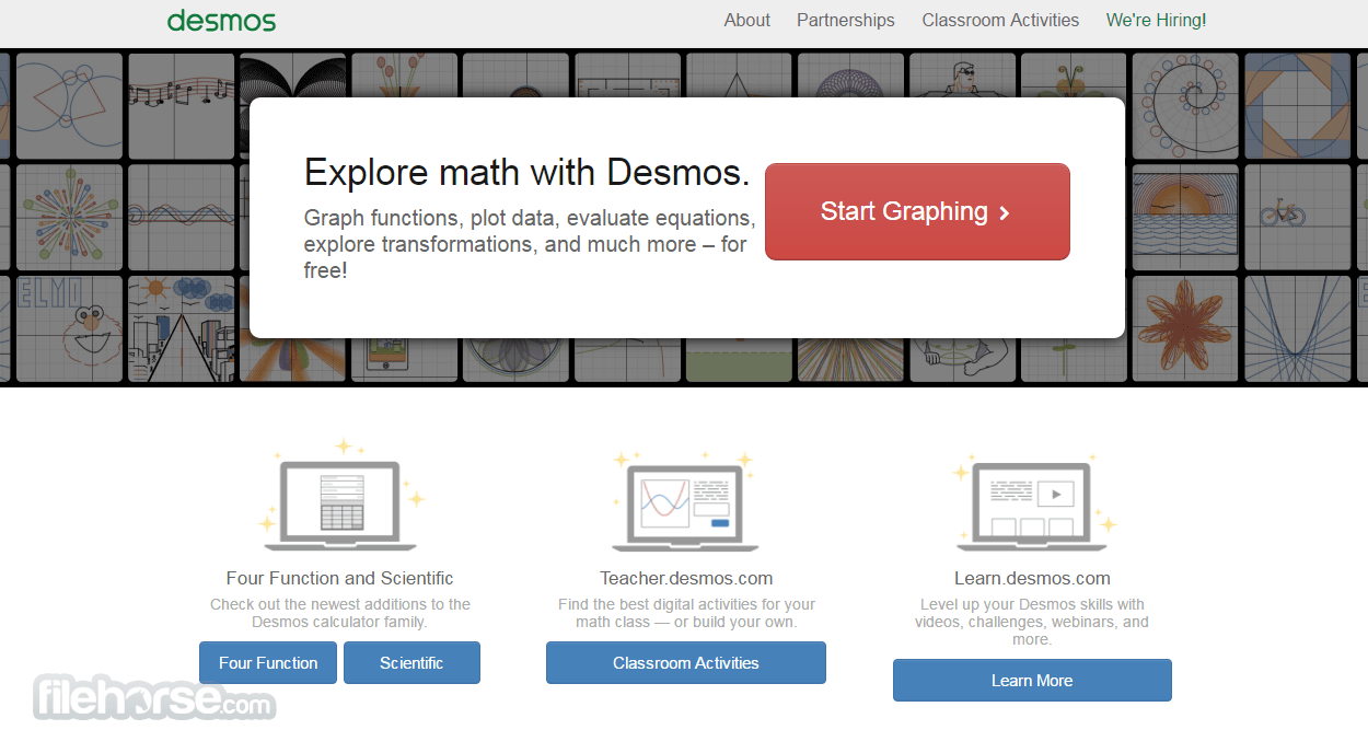 Desmos Screenshot 1