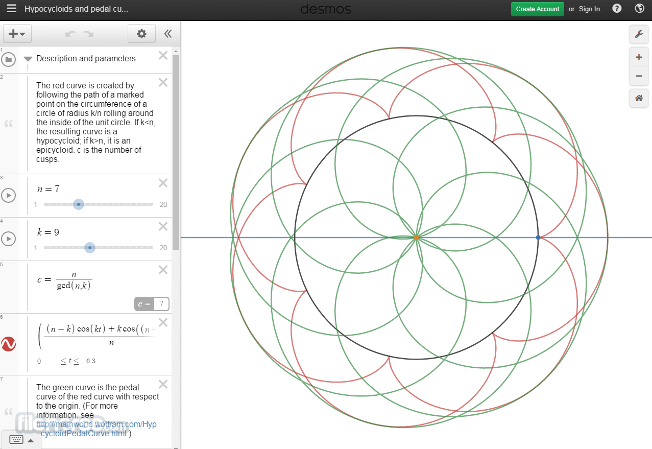 Desmos Screenshot 2