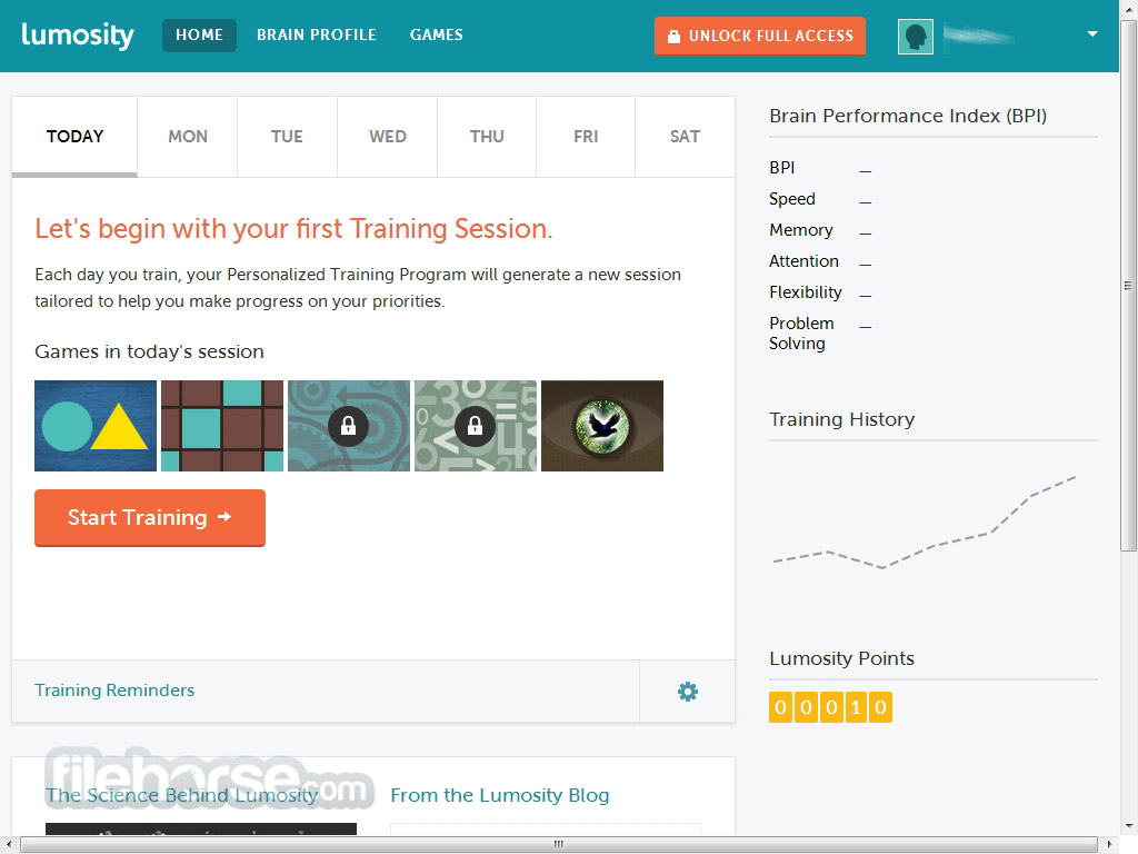 Lumosity Captura de Pantalla 3