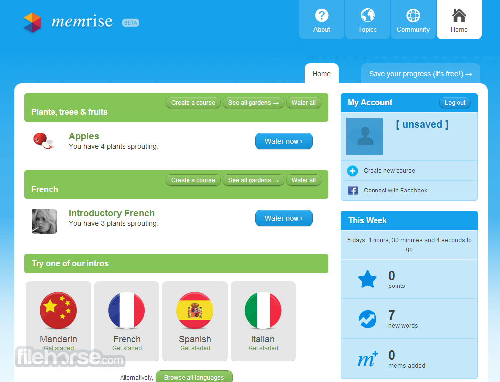 Memrise Screenshot 5