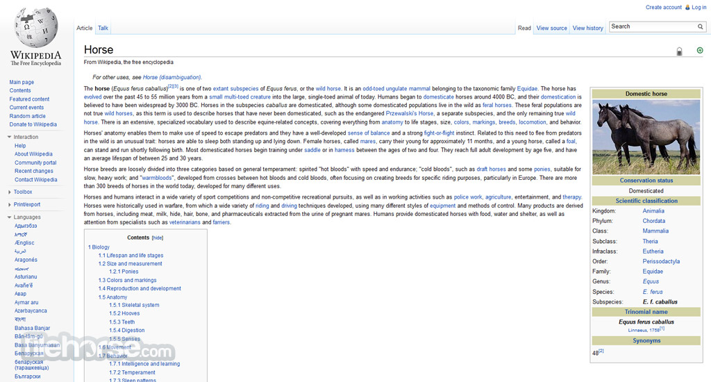Wikipedia Captura de Pantalla 2