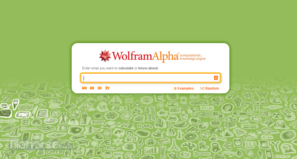 Wolfram Alpha Screenshot 1
