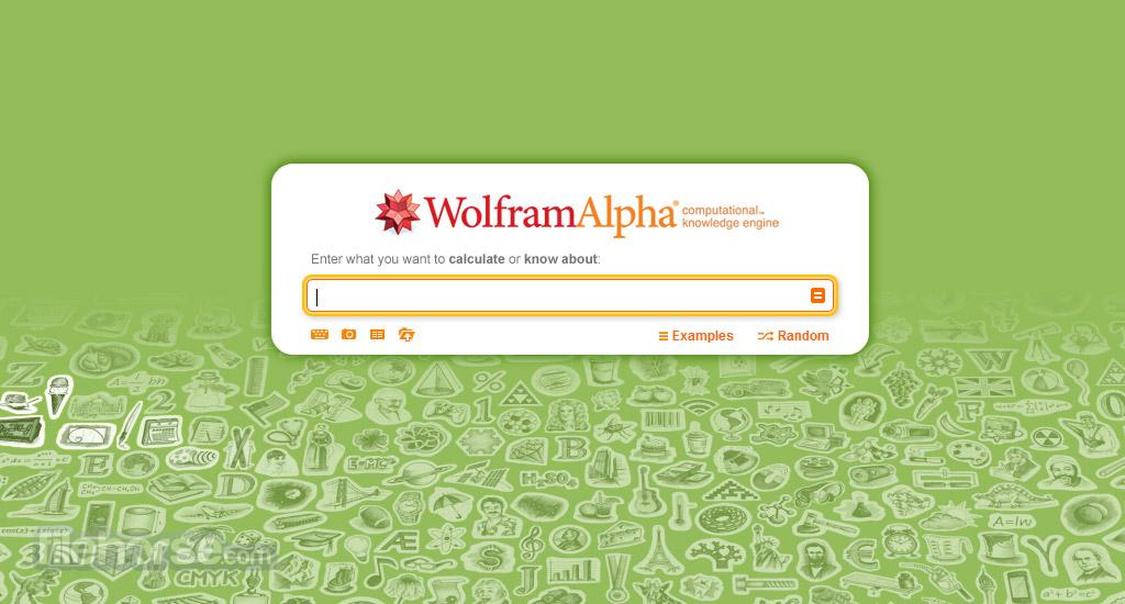 Wolfram Alpha Screenshot 1