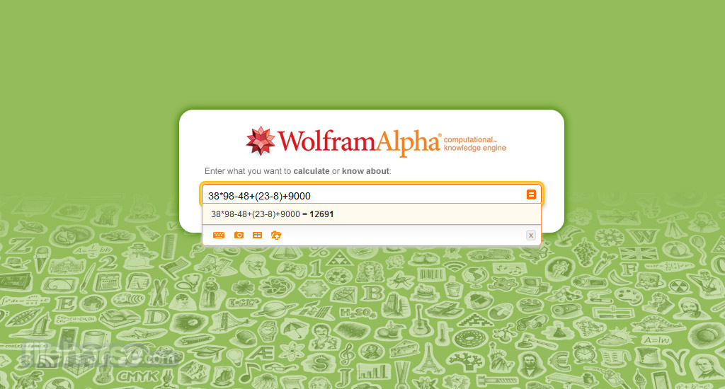 Wolfram Alpha Screenshot 2