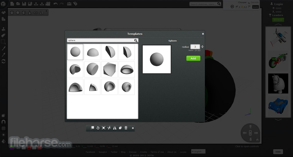 3DTin Screenshot 4